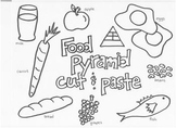 Food Pyramid Cut and Paste 2