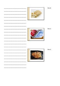 Food Pyramid Handout