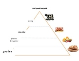 Food Pyramid & Healthy Eating Lesson-1st Grade