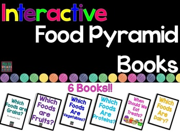 Food Pyramid Interactive Books (Adapted Books For Special Education & Autism)
