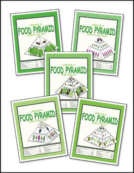Food Pyramid Model ♥ BUNDLE ♥