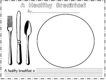 Food Pyramid Nutrition Activities
