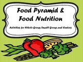 Food Pyramid Nutrition Activities