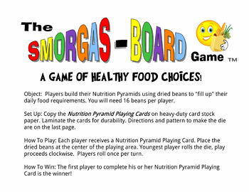 Food Pyramid Nutrition Game, Teach Children to Eat Healthfully, Elementary