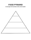 Food Pyramid Worksheet FREE
