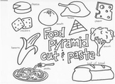 Food Pyramid cut and paste