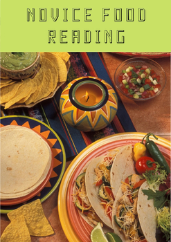 Novice Food Reading (Comida)