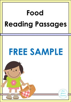 Food Reading Passage Free Sample