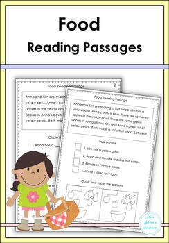 Food Reading Passages