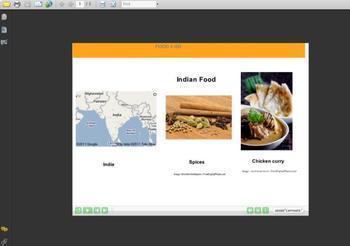 Food Report Interactive Quiz 3