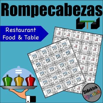 Restaurant Vocabulary Teaching Resources | Teachers Pay Teachers