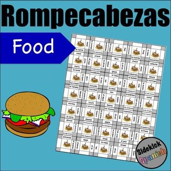 Food / Restaurant vocabulary Asi Se Dice Chapter 4 (level 1)