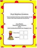 Food Rhythm Activity Set