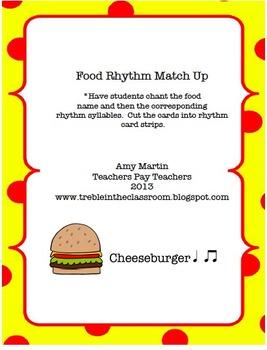 Food Rhythm Activity Set