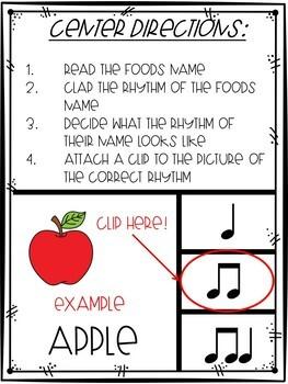 Food Rhythm Clip It Music Center
