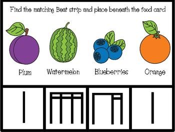 Food Rhythm Matching Game