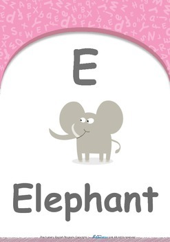Food - Roll it to me! (Pear & Grape) : Letter E : Elephant - PN (1 year old)