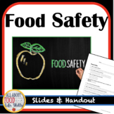 Back to School! Food Safety and Sanitation- FACS, FCS, Cul