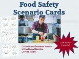 Food Safety Scenario Cards for Discussion US Imperial version