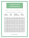 Food Safety Word Search Puzzle