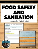Food Safety and Sanitation: Powerpoint and student directions for foldable