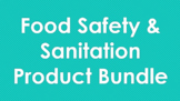 Food Safety and Sanitation Product Bundle