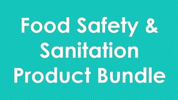 Food Safety and Sanitation Product Bundle