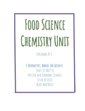 Food Science Chemistry Unit