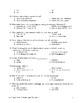 Food Science & Technology CDE: 50 Question Objective Test