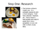 Food Sculpture Introduction & Instructions