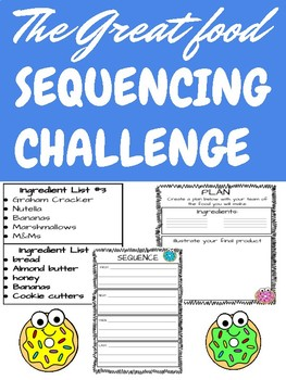 Food Sequencing Challenge