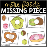 Food (Set 2) Missing Pieces Task Box   Task Boxes for Spec