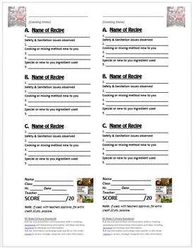 Food Show Varification Sheet