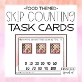 Food Skip Counting Task Cards