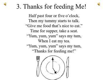 Food Songs