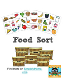 Food Group Sort