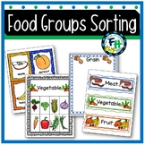 Food Sort, Classify, and Match Activity