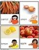 Food Sort Fruits & Vegetables File Folder Game