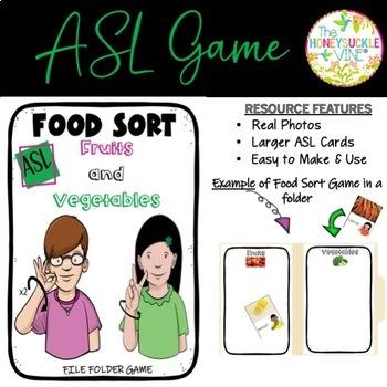 ASL Sorting Game