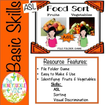 ASL Sorting Game
