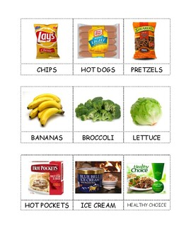 Food Sort: Pantry and Refrigerator