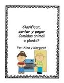 Food Sort in Spanish