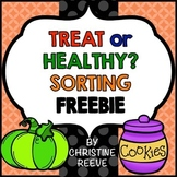 Food Sorting Free Worksheets (Special Ed.; Life Skills; Au