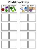Food Sorting Interactive Board