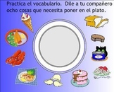 Food Spanish SMART Board Lesson