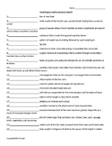 Food Supply and Community Health Worksheet for Nutrition and Health Students