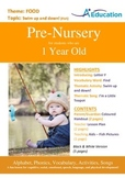 Food - Swim Up and Down (Fish) : Letter F : Find - Pre-Nursery (1 year old)
