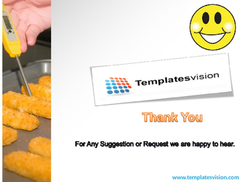 Food Test PPT Template