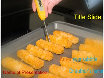Food Test PowerPoint Template