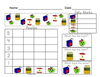 Food Activity Pages Bundle